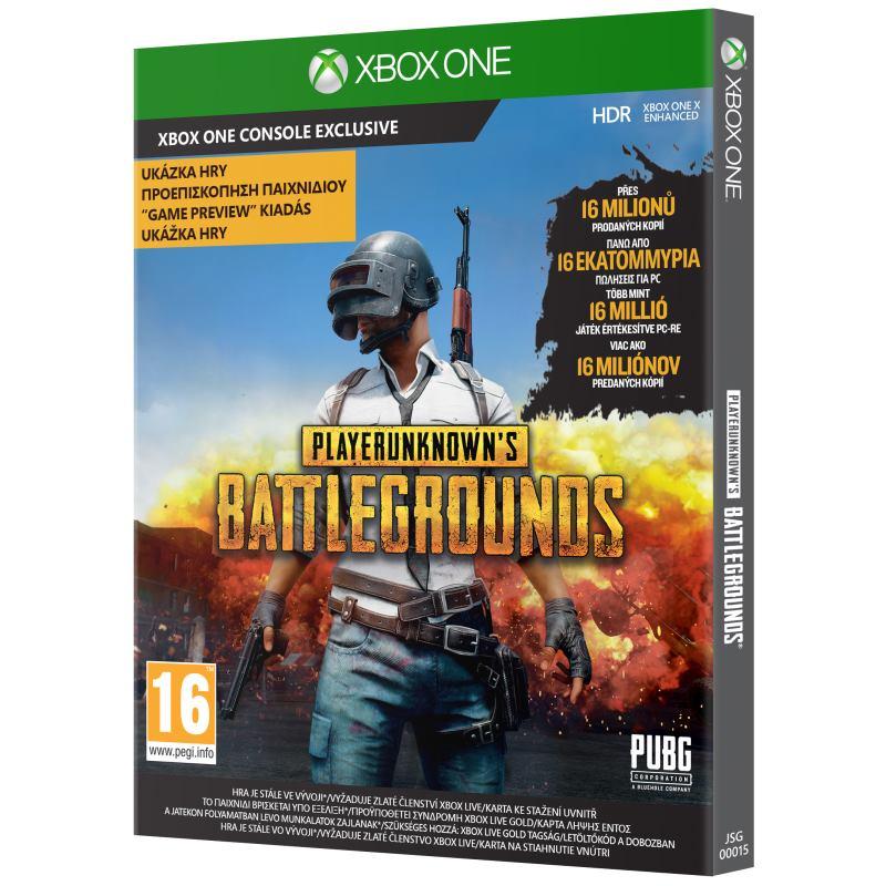 XBOX ONE Player Unknowns Battlegrounds (PUBG)