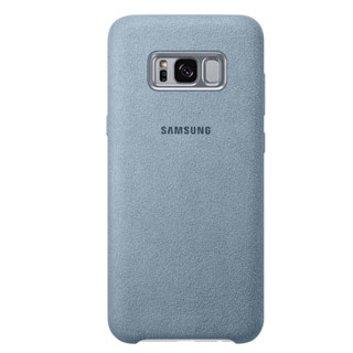 SAMSUNG Alcantara púzdro Galaxy S8 Plus mint