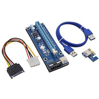 ANPIX Redukcia PCIe x1 na PCIe x16 ver009s Molex