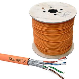 SOLARIX kábel CAT7A SSTP LSOHFR B2ca 500m/cievka