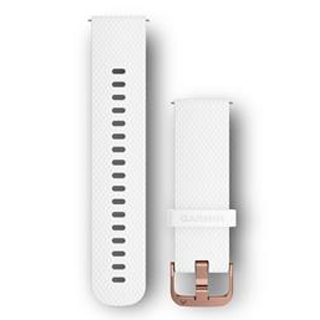 GARMIN Remienok Vívomove HR, White, silikónový S/M