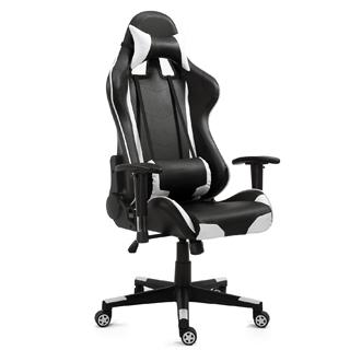 HOME KRAFT Kancelárska stolička SUPERIOR wht/blk