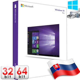 MS WINDOWS 10 Pro SK 32/64 bit USB