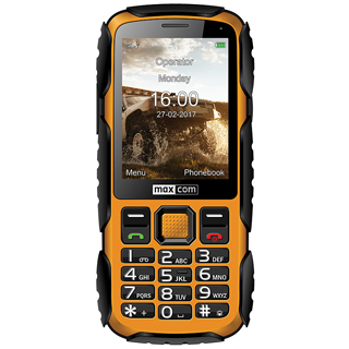 MAXCOM STRONG MM920 IP67 Yellow
