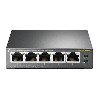 TP-Link Switch 5-Port/1000Mbps/Desk/PoE