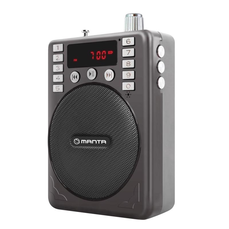 MANTA FM Rádio RIVER RDI109