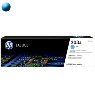 HP Toner  CF541A 203A cyan