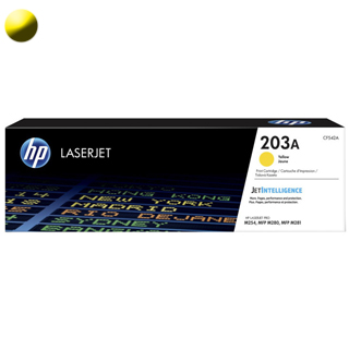HP Toner  CF542A 203A yellow