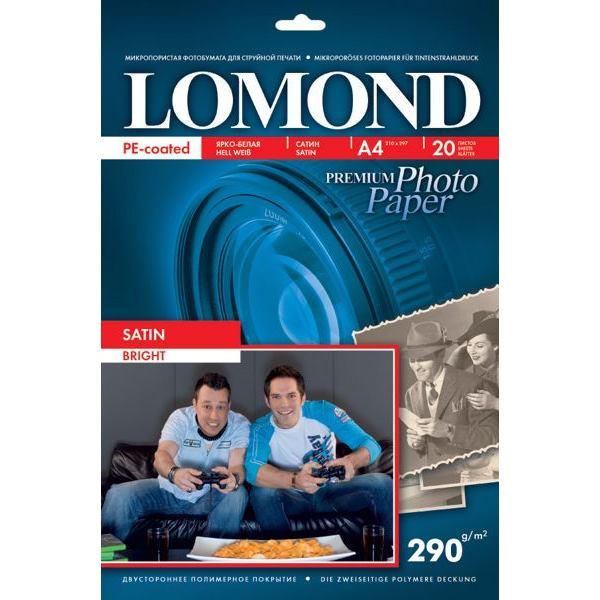 LOMOND Fotopapier Premium, saténový, 290 g/m2, A4