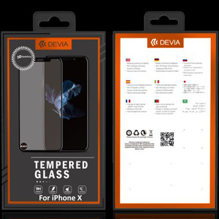DEVIA Classic Temperated Glass for iPhone X Clear Zosilnené sklo d698ea25140