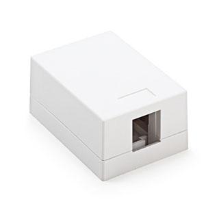 KELINE Zásuvkový box, 1-portový, povrchový, neosad