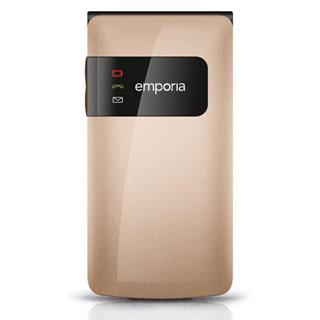 EMPORIA FLIP Basic telefón pre seniorov zlatý