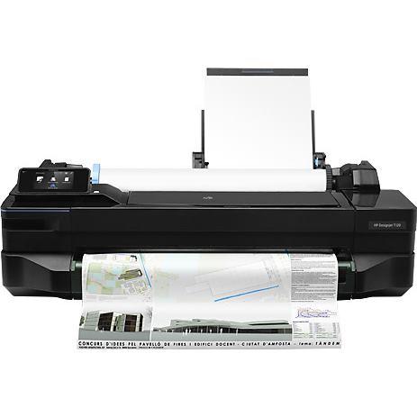 HP Tlačiareň DesignJet A1 T120 Čierna