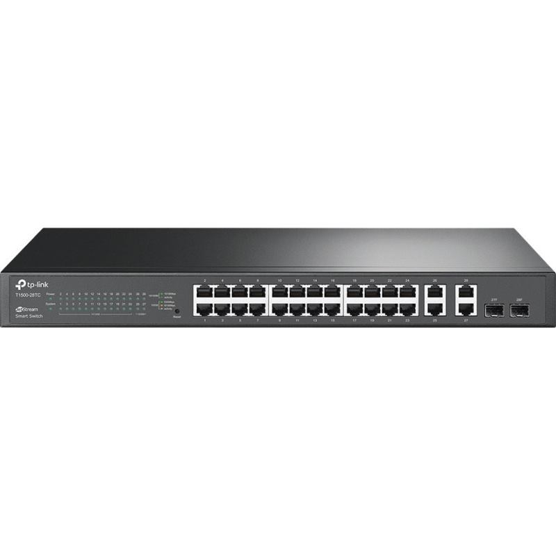 TP-Link Switch 24-Port/100Mbps/MAN/Rack/SFP