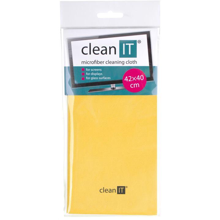 CLEAN IT Čistiaca utierka z mikrovlákna 40x42 ye