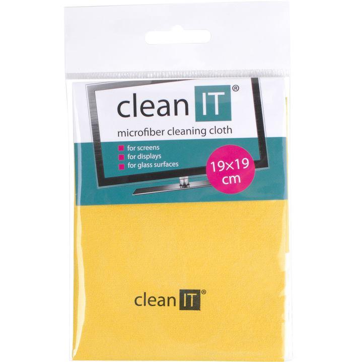 CLEAN IT Čistiaca utierka z mikrovlákna 19x19 ye