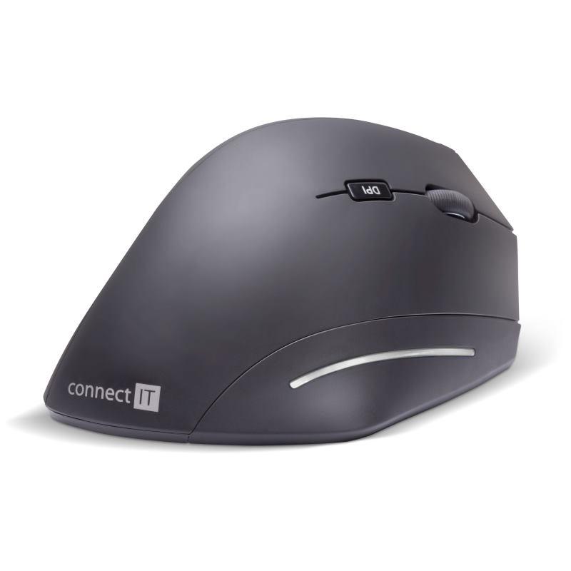 CONNECT IT Ergonomická bezdrôtová myš FOR HEALTH