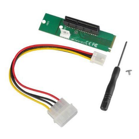 ANPIX redukcia z NGFF M2 (key M) na PCI-E 4x