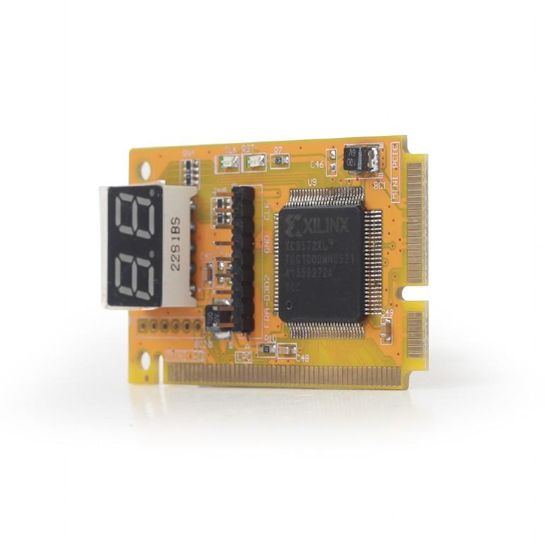 GEMBIRD Tester s displejom pre Notebook Mini-PCI