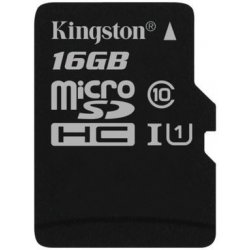KINGSTON Micro SDHC 16GB UHS-I