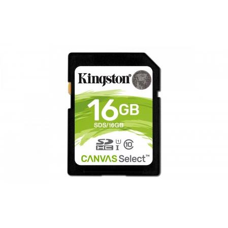 KINGSTON SD SDHC 16GB Class10 UHS-I U1