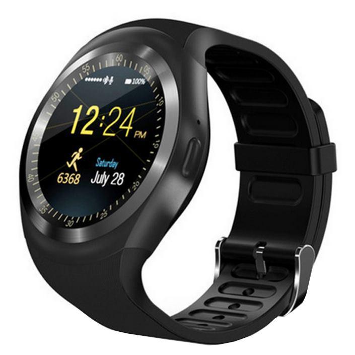 CARNEO Black Eye Smart hodinky čierne