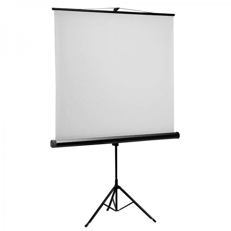 SBOX Projector SCREEN Tripod PSMT-96 172x172cm