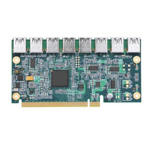 ANPIX Adaptér z PCI-E 16x na 8 porty pre RISER