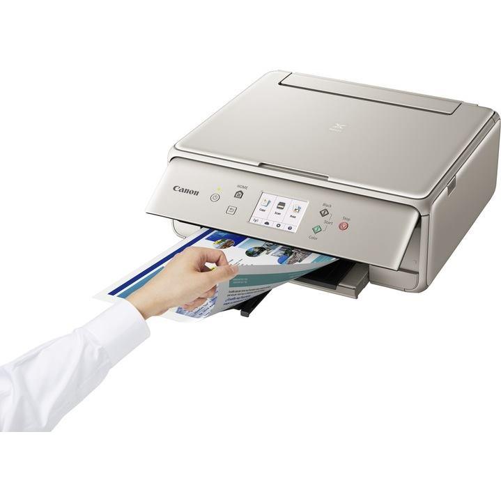 CANON  Multifunkcia PIXMA TS6052grey+PP-201 papier