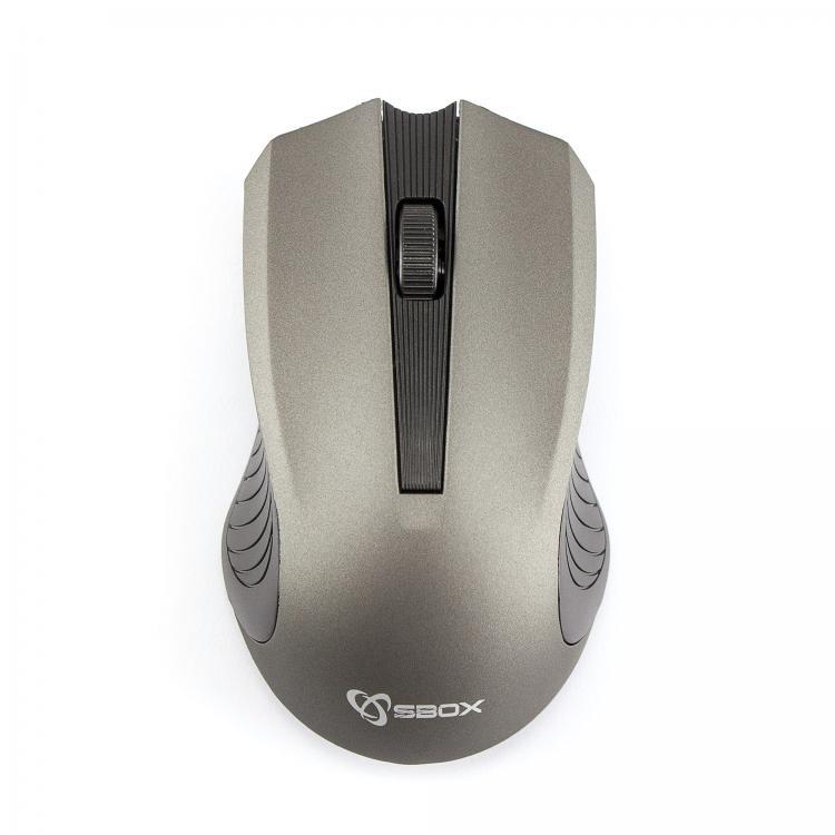 SBOX 4D Optická bezdrôtová myš Grey