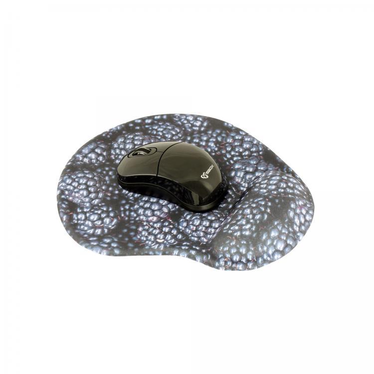 SBOX 3D Optická bezdrôtová myš blk + podložka