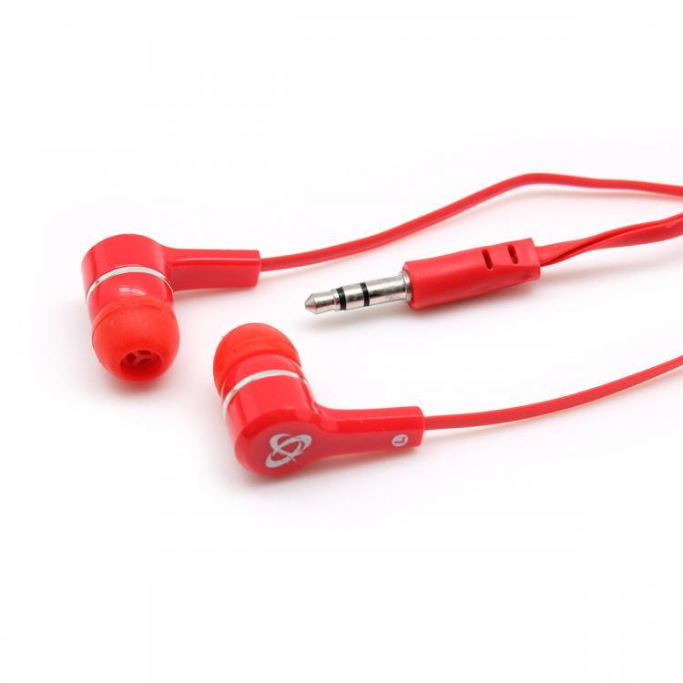 SBOX EP-003R Slúchadlá do uší Červené