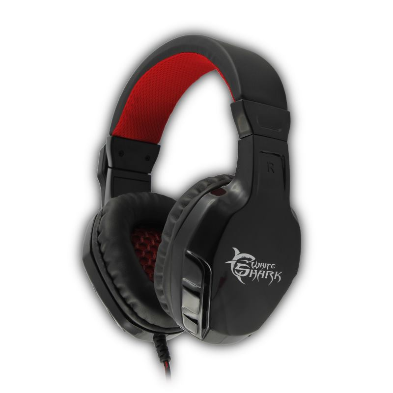 White Shark PANTHER BLACK/RED GHS-1641