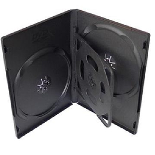 COVER IT Box na 4x CD/DVD/BR 19mm Blk 1bal 5ks