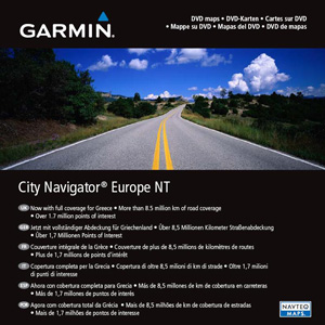 GARMIN City Navigator Europe NT, microSD/SD