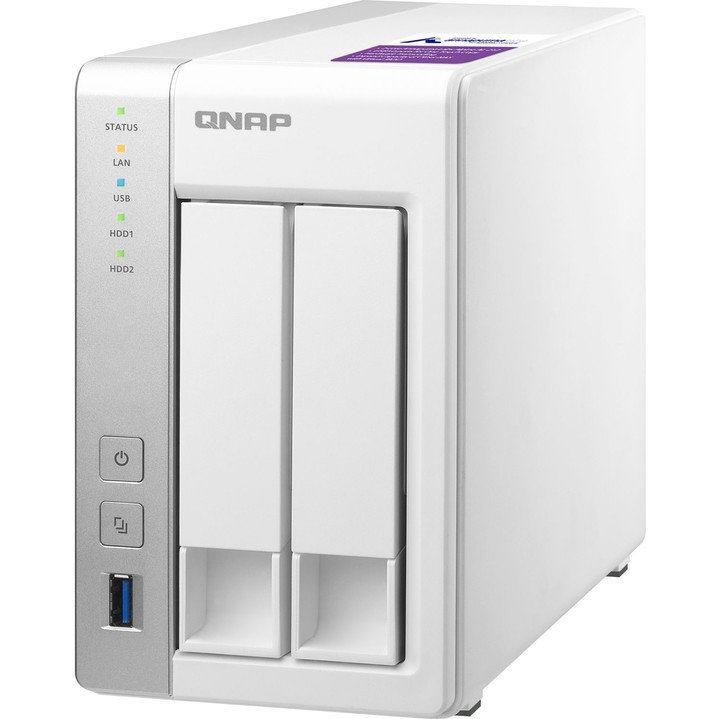 QNAP NAS Server TS-231P2-4G 2xHDD/SSD