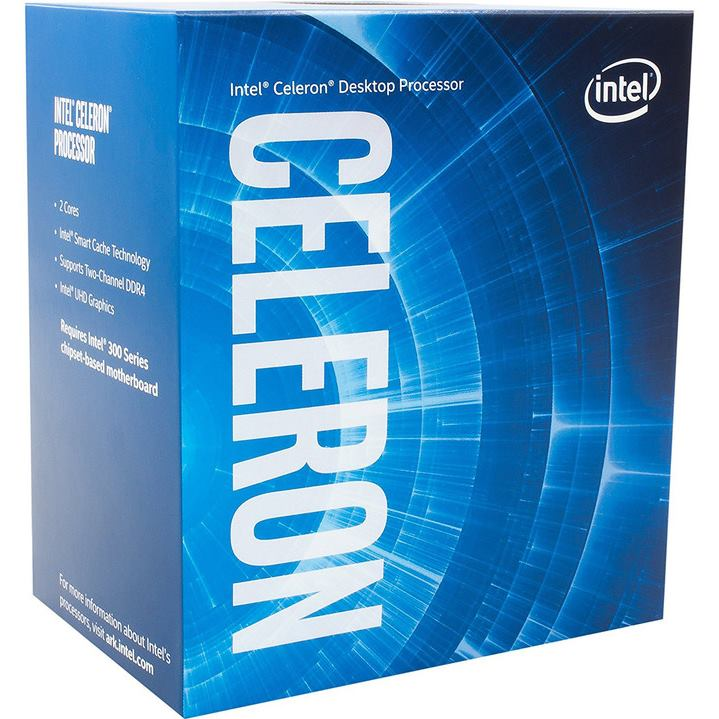 INTEL Celeron G4900 (2M Cache, 3.10 GHz) BOX
