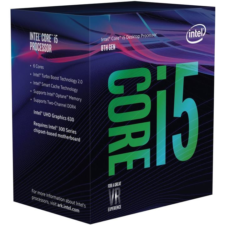 INTEL Core i5-8500 (9M Cache, up to 4.10 GHz) BOX
