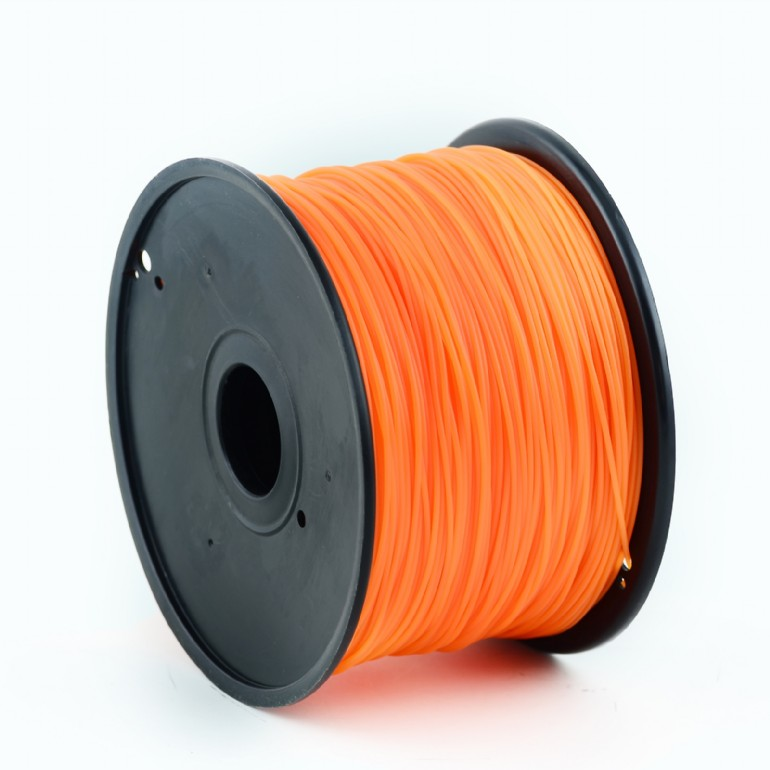 GEMBIRD Náplň 3D 100mm PLA/1.75mm/1kg Orange