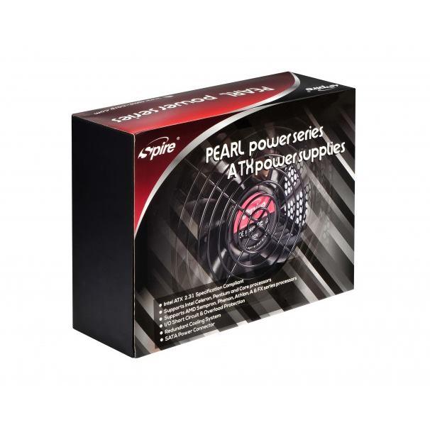 SPIRE PC Zdroj ATX 650W Pearl SP-ATX-650Z-APFC