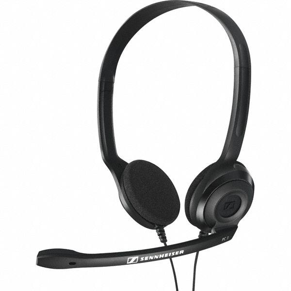 SENNHEISER slúchadlá PC 3 CHAT black