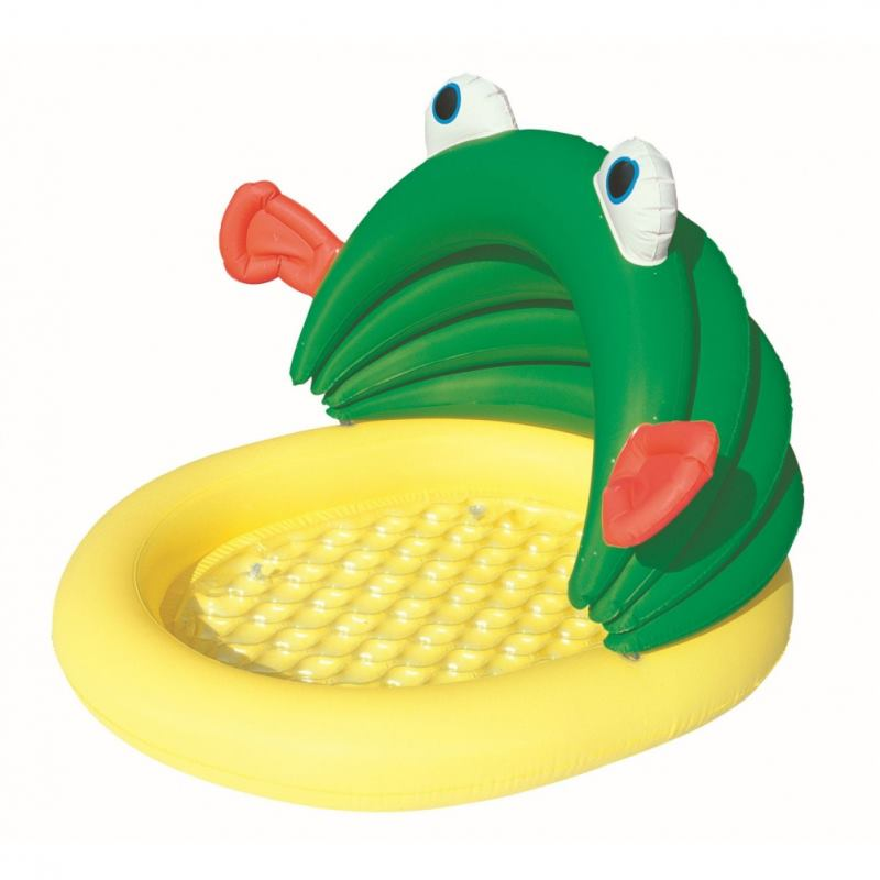BTW Detský bazén žaba so strieškou #52162