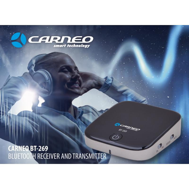 CARNEO BT-269 bluetooth audio receiver a trans.