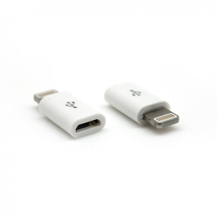SBOX Redukcia micro USB 2.0 samica/Apple Lightning