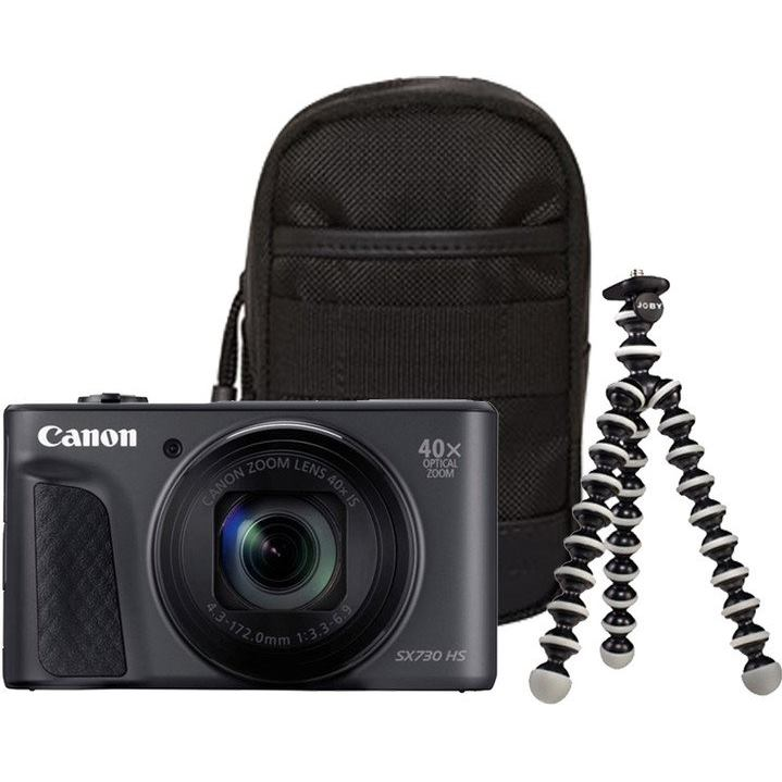 CANON PowerShot SX730 HS čierny Travel Kit