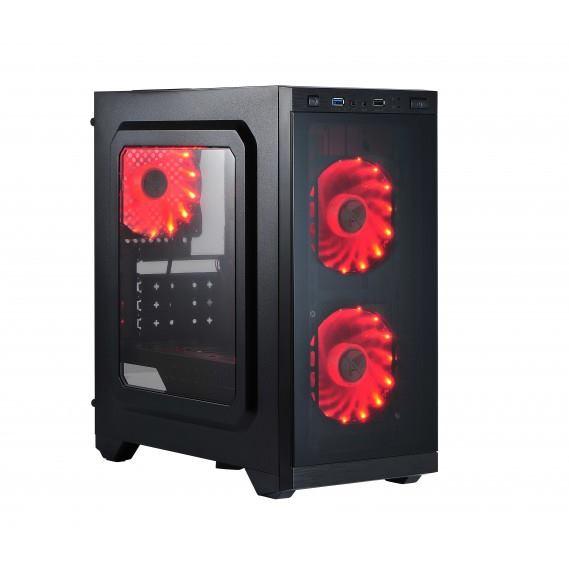 X2 Case PIRATE 1415, USB 3.0 black