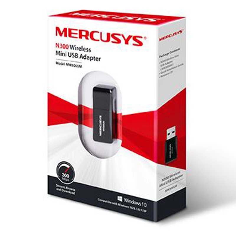 MERCUSYS N300 Wireless Mini USB Adapter MW300UM