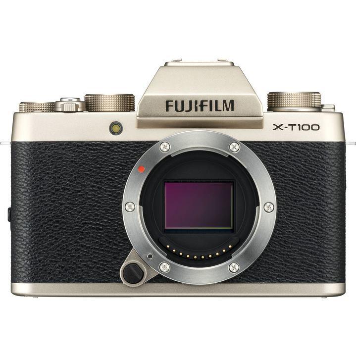 FUJIFILM X-T100 zlatý (telo)