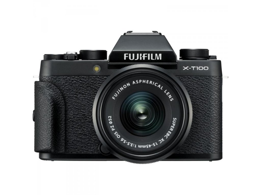 FUJIFILM X-T100 čierny (telo) + XC 15-45mm II