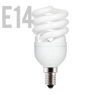 GE Úsporná žiarivka FLE12HLX/T2/827/E14